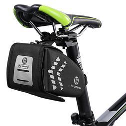 1.5L Waterproof Cycling Bicycle Saddle Under Seat Bag Road M