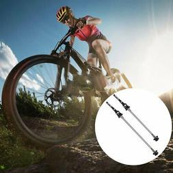 1 Pair Bicycle QR Ti Skewer Wheel Quick Release Skewers Axle