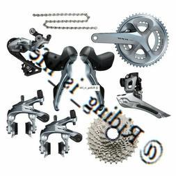 Shimano 105 R7000 2x11 Road Bike Groupset 50-34/52-36/53-39/