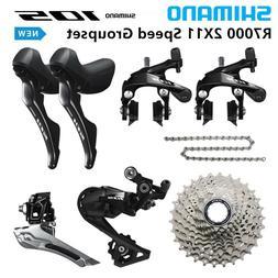 Shimano 105 R7000 2X11 Speed Road bike Groupset  12-25 / 11-