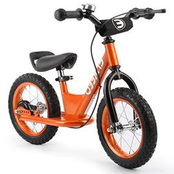 ENKEEO 12 Inches Sport Balance Bike No Pedal Control Walking