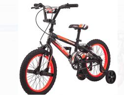 Mongoose 16 Inch Mutant Kids BMX-Style Bike Black Orange Tra