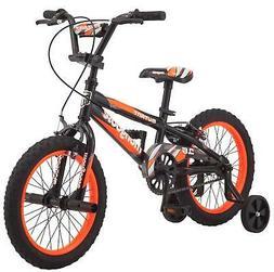 "Mongoose 16"" Mutant Kids BMX-Style Bike Ages 3-5 Training Wh"