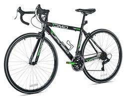 "GMC 19"" 700c Adult Denali Road Bike, Bicycle Black/Green **F"
