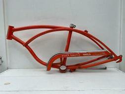 1970 Schwinn Bicycle Stingray ORANGE KRATE FRAME original pa