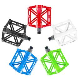 "1Pair Bike Aluminum Road Mountain Bicycle Pedals 9/16"" MTB F"