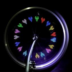1PC Durable Bike Tire Valve Cap Bike Wheel Light for Road Bi