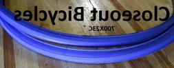 2 Pack Innova Blue 700x23C Road Bike Bicycle Clincher Tires