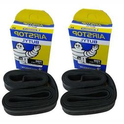 2 x Michelin Road Bike Airstop inner tube 52mm Presta Valve