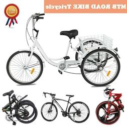 20''24''26inch 1/7/21 Speed Shimano Folding MTBRoad Bike Bic