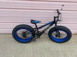 "20"" Boy's Mongoose Pug Fat Tire Bike R2456 NEW SHIFTER NEW S"
