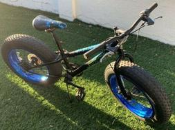 "20"" Boy's Mongoose Pug Fat Tire Bike, Black"