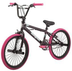 "Mongoose 20"" FSG BMX Girl's Bike Black / Pink NEW IN BOX"