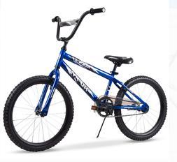 Huffy 20-Inch Rock It Boys Bike Blue Kickstand Graphics EZ B