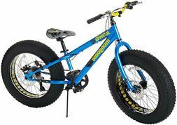 "20 "" Mongoose Kong 7 Speed Boys All Terrain Road Bike Fat Ti"