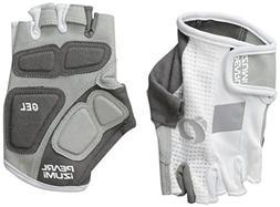 Pearl Izumi 2017 Women's Elite Gel Cycling Gloves, White, La