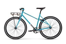 Raleigh Bikes Carlton Mixte Women's City Bike, Blue, 48cm/Sm