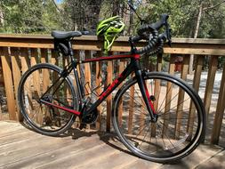 2018 TREK EMONDA SL 5 54CM CARBON ROAD BIKE WITH TUBELESS TI