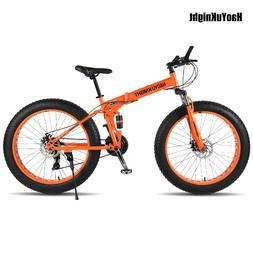 2018new Folding bicyc 26*4.0 tire <font><b>24</b></font> spe