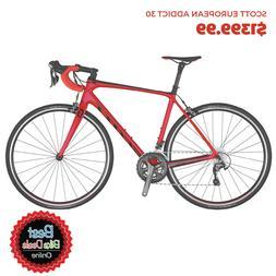 2020 Scott European Addict 30 Road Bike -  Size - 54cm
