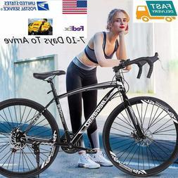 2021 Road Bike 21 Speed Men's Bikes 700C wheels Bicycle Disc