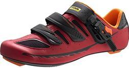Mavic 216 Men's Ksyrium Elite II Road Cycling Shoes - Red/Bl