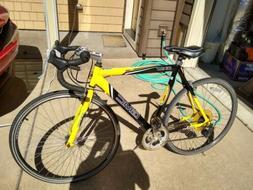 """22.5"""" GMC Denali 700c Men's Road Bike,Black-Orange used"""