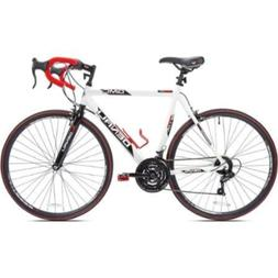 "KENT 22.5"" GMC Denali 700cc Men's Bike, White/Red"