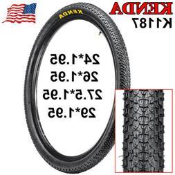 KENDA 24/26/27.5/29*1.95 Mountain Road Bike Tire Durable Cli