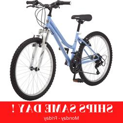 "Roadmaster 24"" inch Granite Peak Girls Mountain Bike- Light"