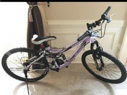 24-Inch Mountain Bike with 21 speed and Alloy Linear Pull Br