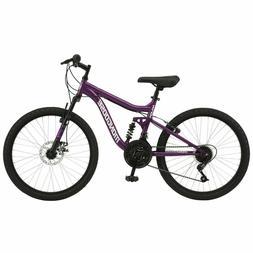 "Mongoose 24"" Major Mountain Bike, Purple SHIPPING TO LOWER 4"