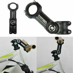 Road MTB Bicycle Aluminum Stem 7 Degree 25.4mm//31.8mm Mountain Bike Stem Riser K