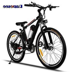 """Rapesee 25"""" Electric Mountain Bike E-Bike, 2018 Best 21-Sp"""
