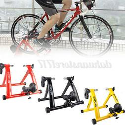 26-28in Bike Roller Exercise Trainer Road Fitness Rack Wirel