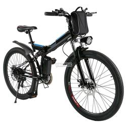 "26"" 500W Fat Tire Electric Bicycle Bike Ebike Mountain Beach"