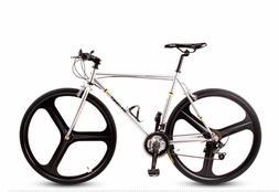 26''Adult Road Bike Cruiser Bike Cycling 21Spd SHIMANO V Bra