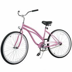 26'' Beach Bike Cruiser Bicycle City Bike Road Bike w/ P