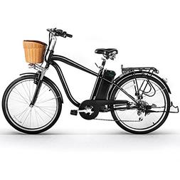 NAKTO/SPARK 26'' City Electric Bicycle Ebike with Remova