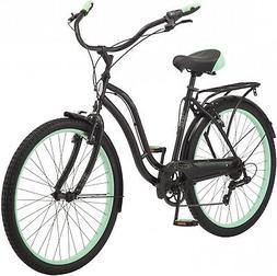 26' Schwinn Fairhaven Women's Cruiser Bike, Black