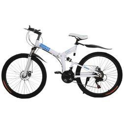26 Inch 21-Speed Folding Mountain Bike Off-road BMX Bikes Do