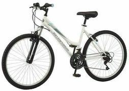 """New White Roadmaster 26/"""" Granite Peak Women Mountain Bike 18 Speed"""