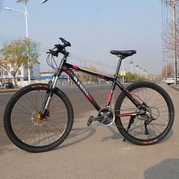 26 inch mountain bike 27 speed oil brake road bike