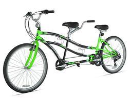 "Kent 26"" Northwoods Adult, 21-Speed Dual Drive Tandem Bike,"