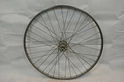 "Windsor 27"" Front Road Bike Wheel Sunshine Hub Silver OLW100"
