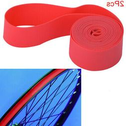 2pcs Bicycle Tire Liner Puncture Proof Belt Protection Pads