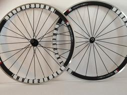 316 Bikes Road Bicycle Wheelset 38mm Carbon Fiber Clincher W