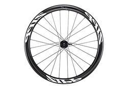 Zipp 302 Carbon Clincher Disc Road Wheel White, Rear, Center