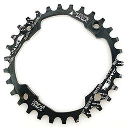 FOMTOR 30T Chainring 104 BCD Narrow Wide Chainring with Four