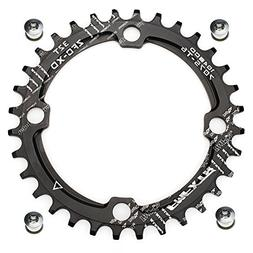 FOMTOR 32T Narrow Wide Chainring 104 BCD Chainring for 9 10